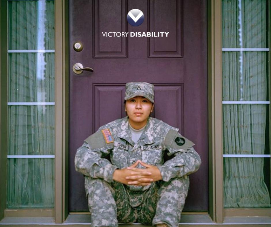 vet in front of home